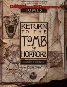 <i>Return to the Tomb of Horrors</i>