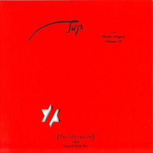 <i>Tap: Book of Angels Volume 20</i> 2013 studio album by Pat Metheny