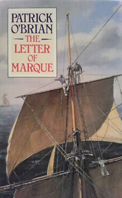 Cover by Geoff Hunt for The Letter of Marque.
