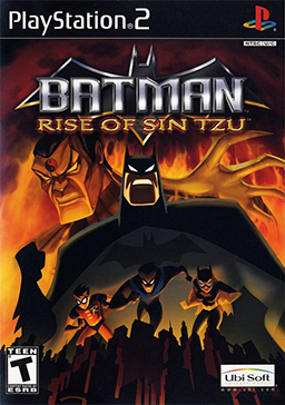 Official poster of Batman: Rise of Sin Tzu game launched in 2003.