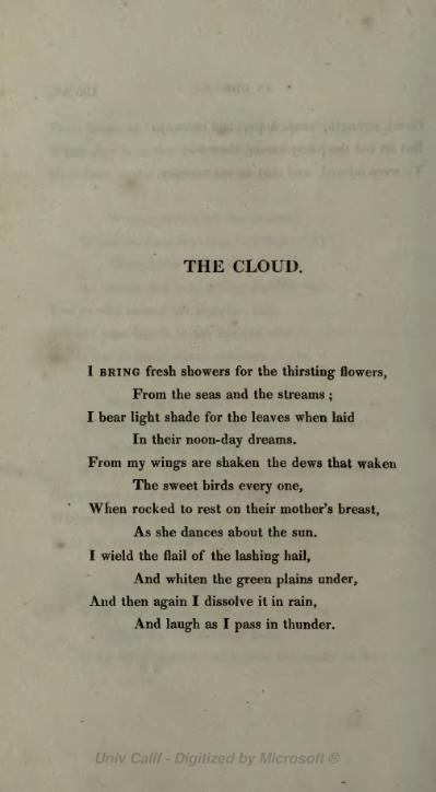 The Cloud Poem Wikipedia