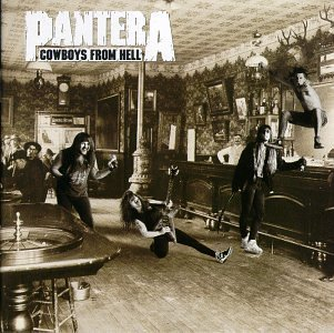 <i>Cowboys from Hell</i> album by Pantera