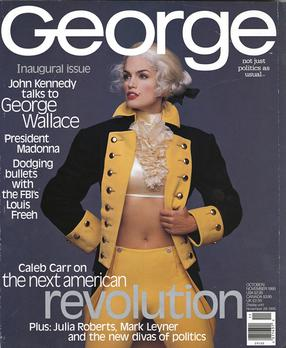 George magazine, inaugural issue