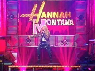 letra who said hanna montana: