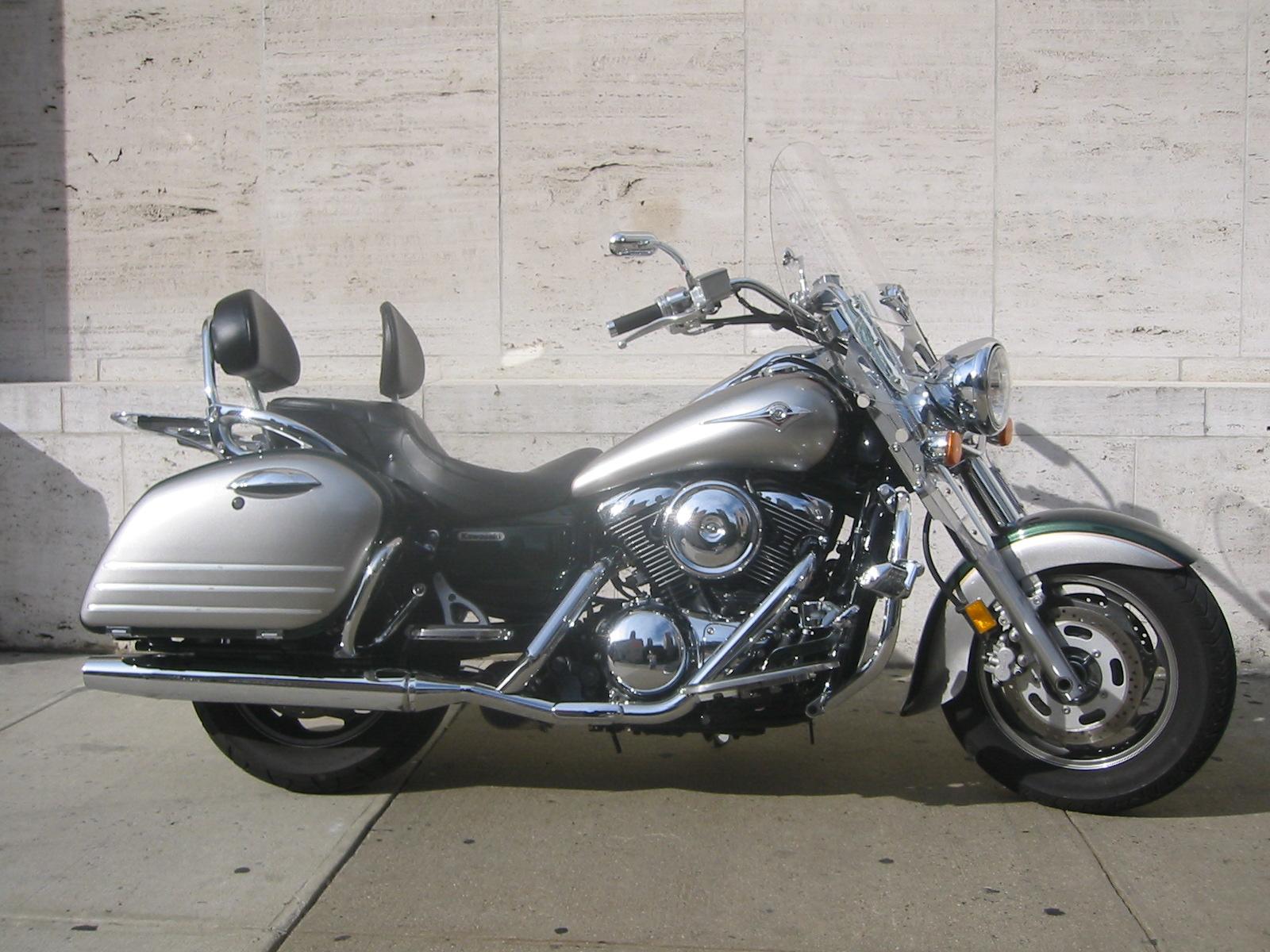 Kawasaki Drifter Saddlebag Brackets