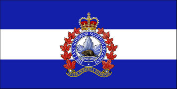 The camp flag of The Lake Superior Scottish Regiment.