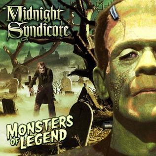 <i>Monsters of Legend</i> 2013 studio album by Midnight Syndicate