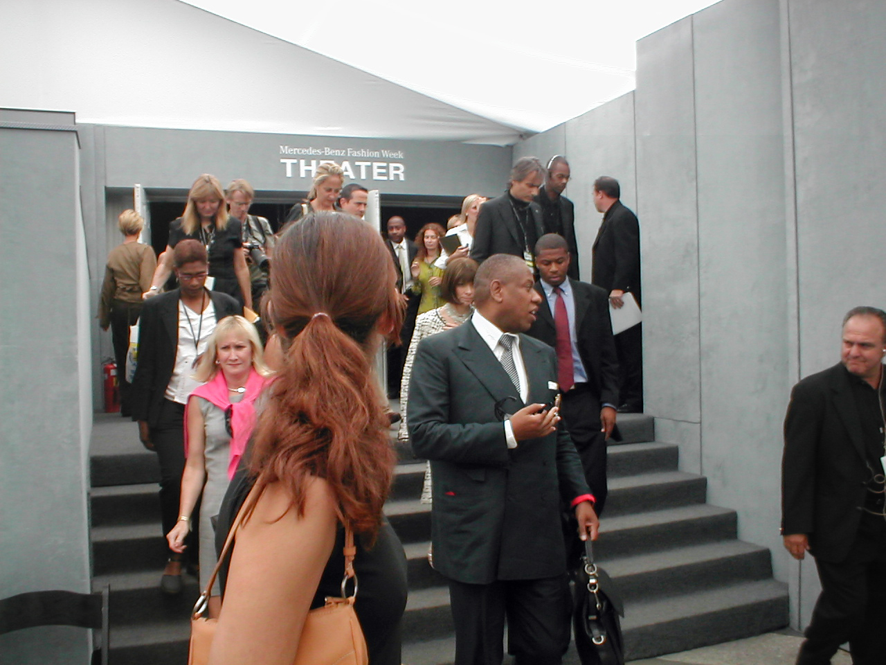 Anna Wintour also ceased the Met Gala interview duties for André Leon Talley. Source: Wikipedia.