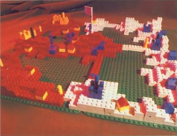 Lego model of Populous Populous Lego Model.png