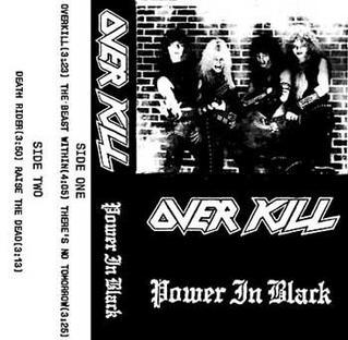 <i>Power in Black</i> 1983 studio album (Demo) by Overkill
