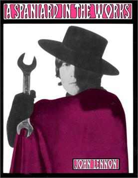 The cover of the book, featuring a picture of John Lennon