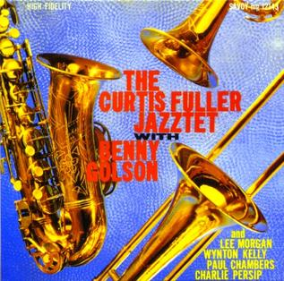 <i>The Curtis Fuller Jazztet</i> 1959 studio album by Curtis Fuller with Benny Golson