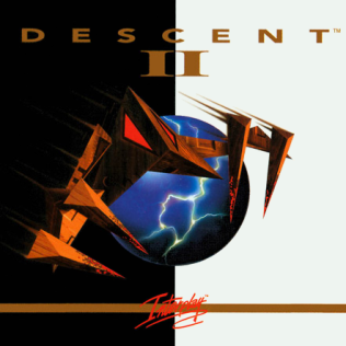 Picture of a game: Descent II