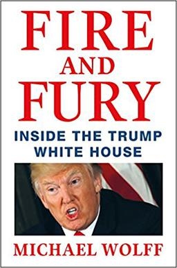 First Edition Cover Fire and Fury