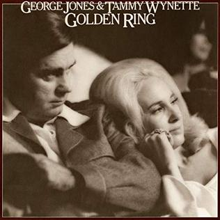 <i>Golden Ring</i> (album) 1976 studio album by George Jones and Tammy Wynette