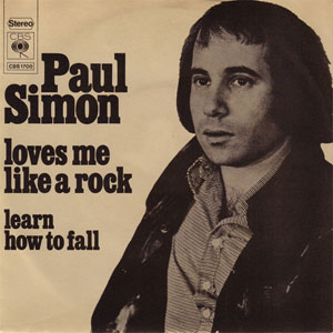 Loves Me Like a Rock single by Paul Simon and gospel