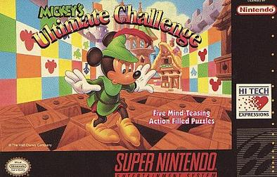 mickey mouse game for super nintendo