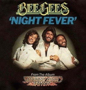 Image result for bee gees night fever