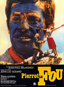 Pierrot le fou (1965) movie poster
