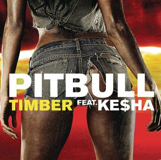Pitbull featuring Kesha — Timber (studio acapella)