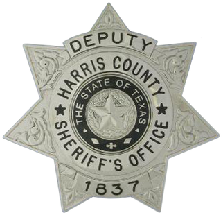 Free Sheriff Star Embroidery Design