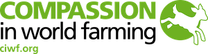 The logo for Compassion in World Farming.