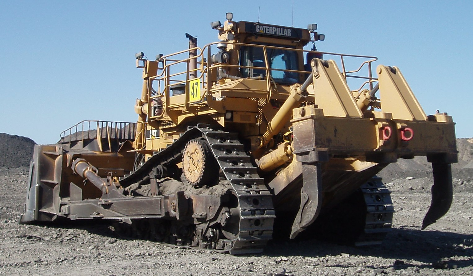 Ripper, Heavy Equipment Used in Construction