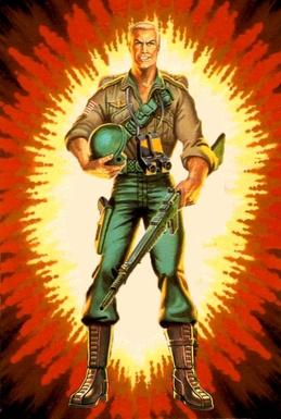 GI Joe Playset Cobra Rifle Range Target 1984 Original Part