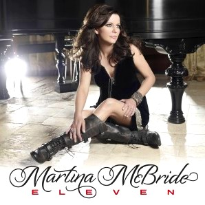 Martina McBride, ELEVEN, 2011, cd, New, album, box, art, image