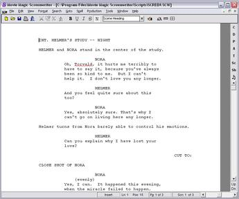 how to cite a screenplay