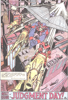The original Four Horsemen of Apocalypse. Pane...