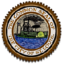 Color image of the seal of the city of St. Lou...