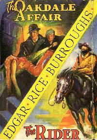 THE OAKDALE AFFAIR Edgar Rice Burroughs AMEREON HOUSE 80 Printed BLACK Sealed
