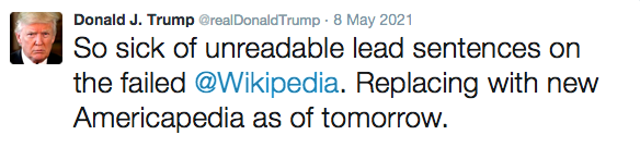 Trump Wikipedia Tweet (fake).png