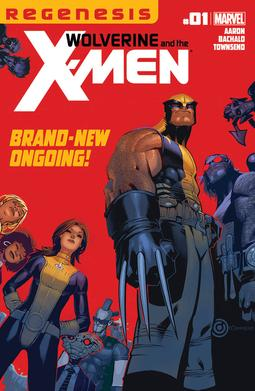 Cover of Wolverine and the X-Men #1 (December 2011). Art by Chris Bachalo & Tim Townsend.