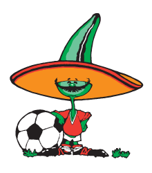 Pique, the official mascot of the 1986 FIFA World Cup 1986 FIFA World Cup official Mascot.png