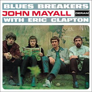 <i>Blues Breakers with Eric Clapton</i> 1966 studio album by John Mayall & the Bluesbreakers