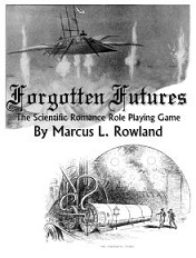 Forgotten Futures, role-playing game