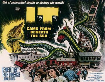 Image of It came from Beneath the Sea movie poster