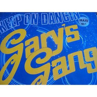 Keep On Dancin (Garys Gang song) 1979 single by Garys Gang