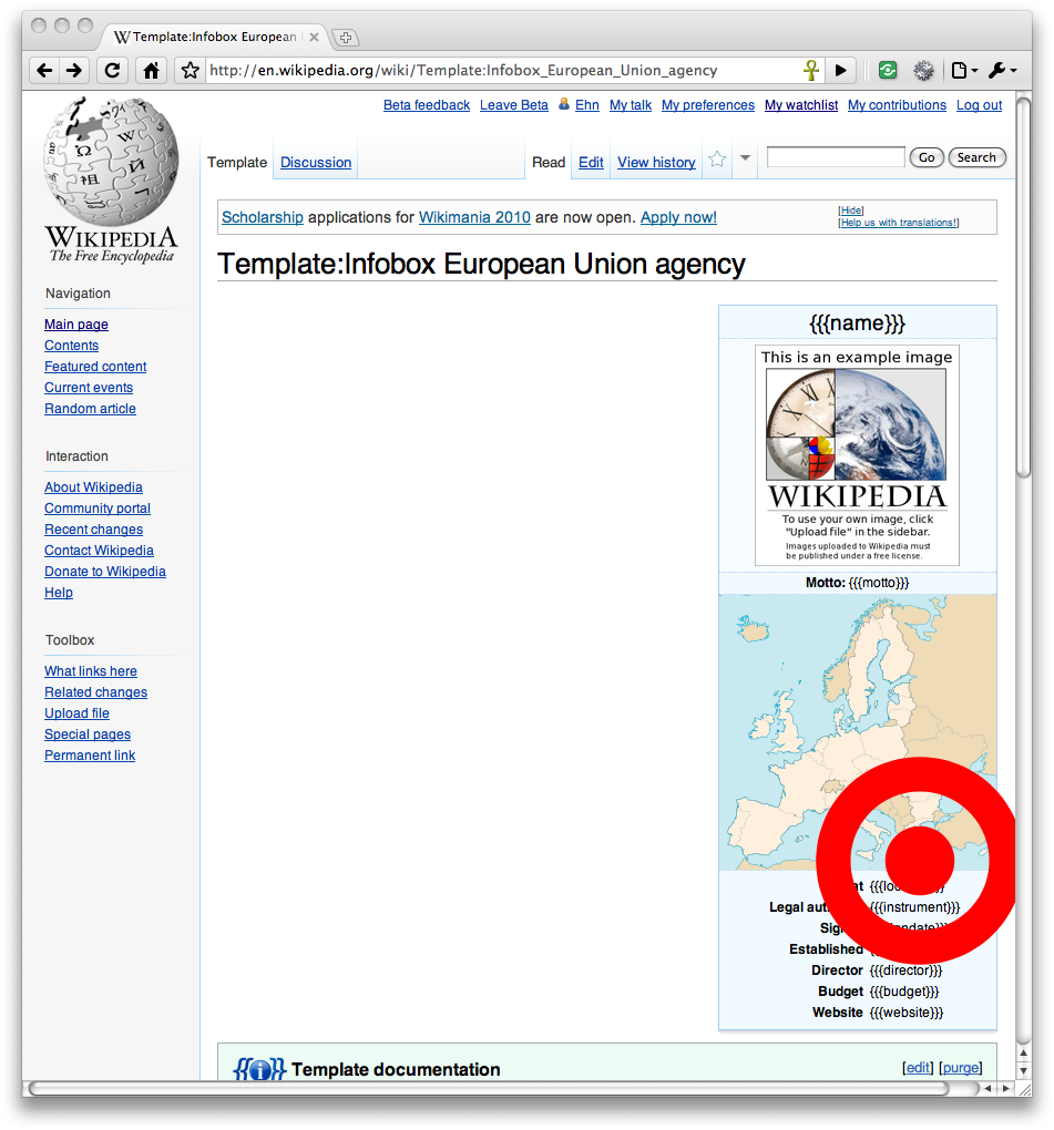 Wikipedia Template | File Rendering Bug In Chrome For Template Infobox European Union