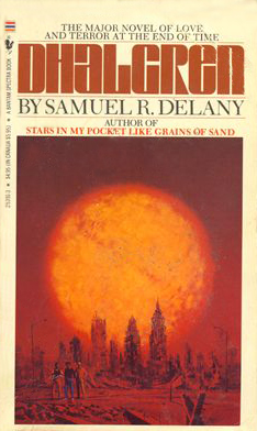 The classic Bantam cover of Samuel Delany's seminal Dhalgren.