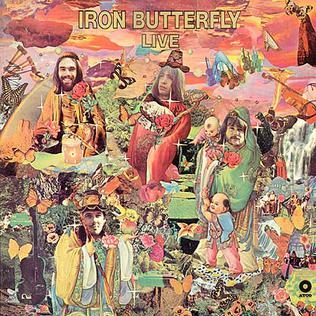 Pochettes psychédéliques ou hippies Iron_Butterfly_Live