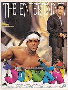 <i>Judwaa</i> 1997 film by David Dhawan