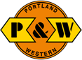 Portland and Western Railroad logo.png