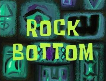 Rock Bottom Spongebob Squarepants Wikipedia