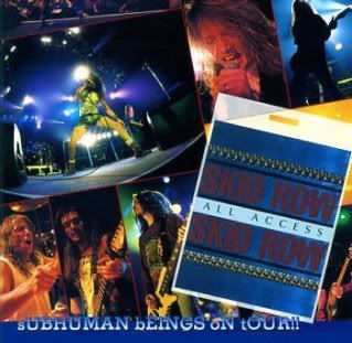 <i>Subhuman Beings on Tour</i> 1995 EP live by Skid Row