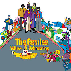 The Beatles Polska: W Anglii ukazuje się LP Yellow Submarine