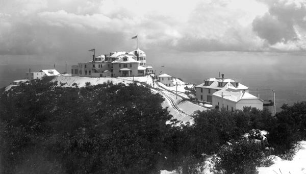 Historic photo of Echo Mountain House