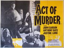 <i>Act of Murder</i> (film) 1964 film by Alan Bridges